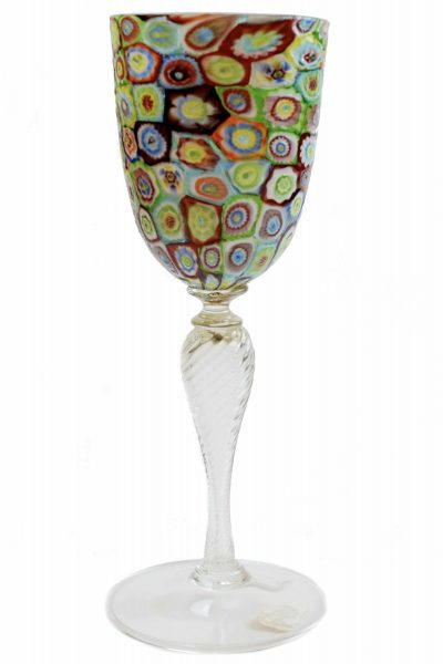 Murrine goblet