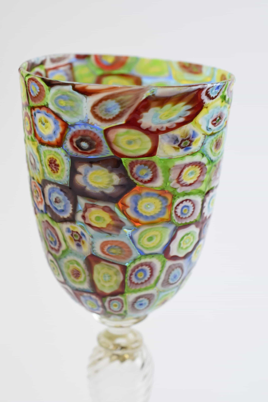 Murrine goblet