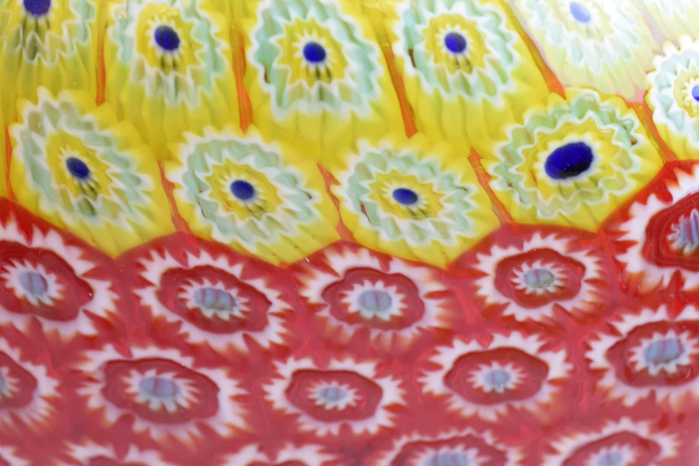 Vaso Murrine bicolore