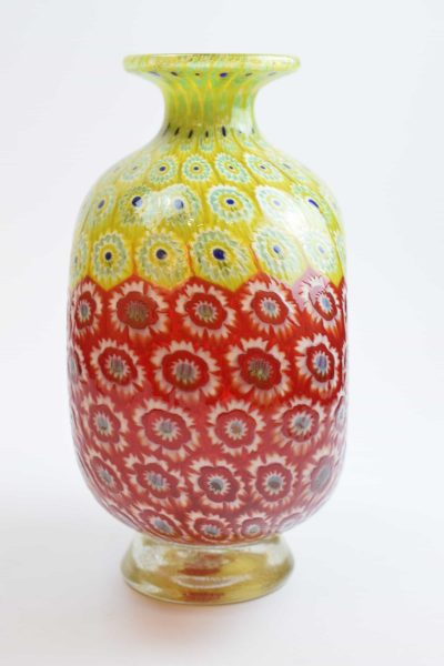 Vaso Murrine bicolore