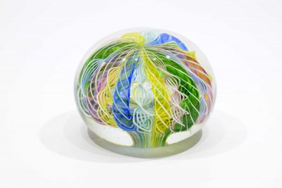 Reticello paperweight