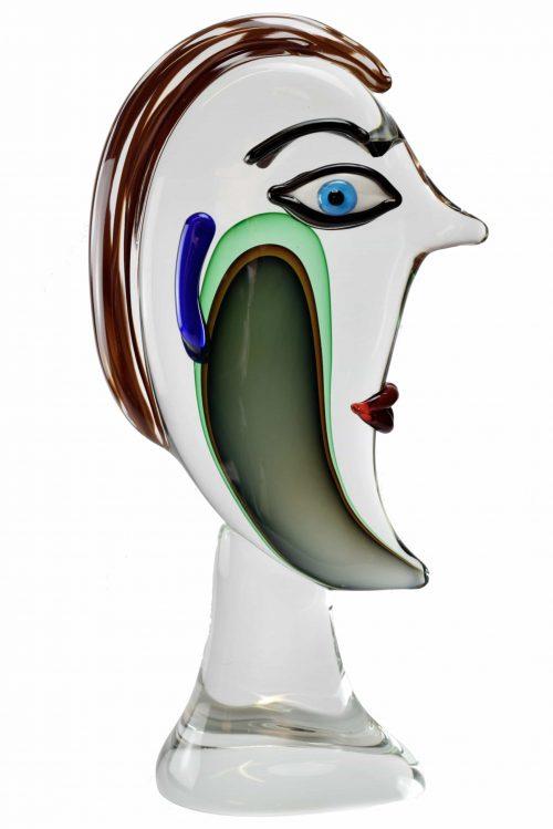 scultura lord in vetro di murano
