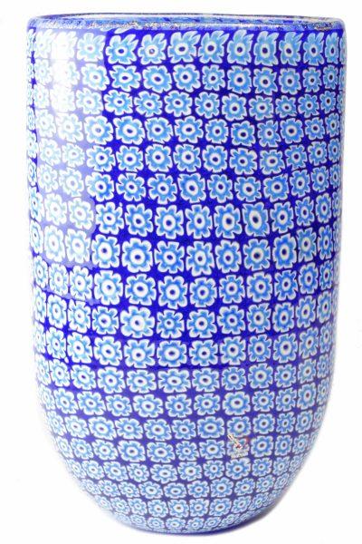 Blu murrine vase
