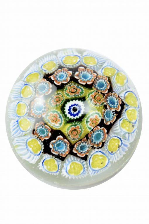 murano glass paperweight