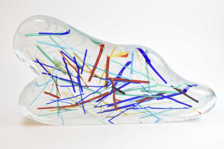 Abstract grinder sculpture