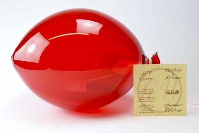Decorative glass ballon