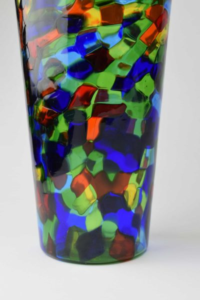 Spotted vase