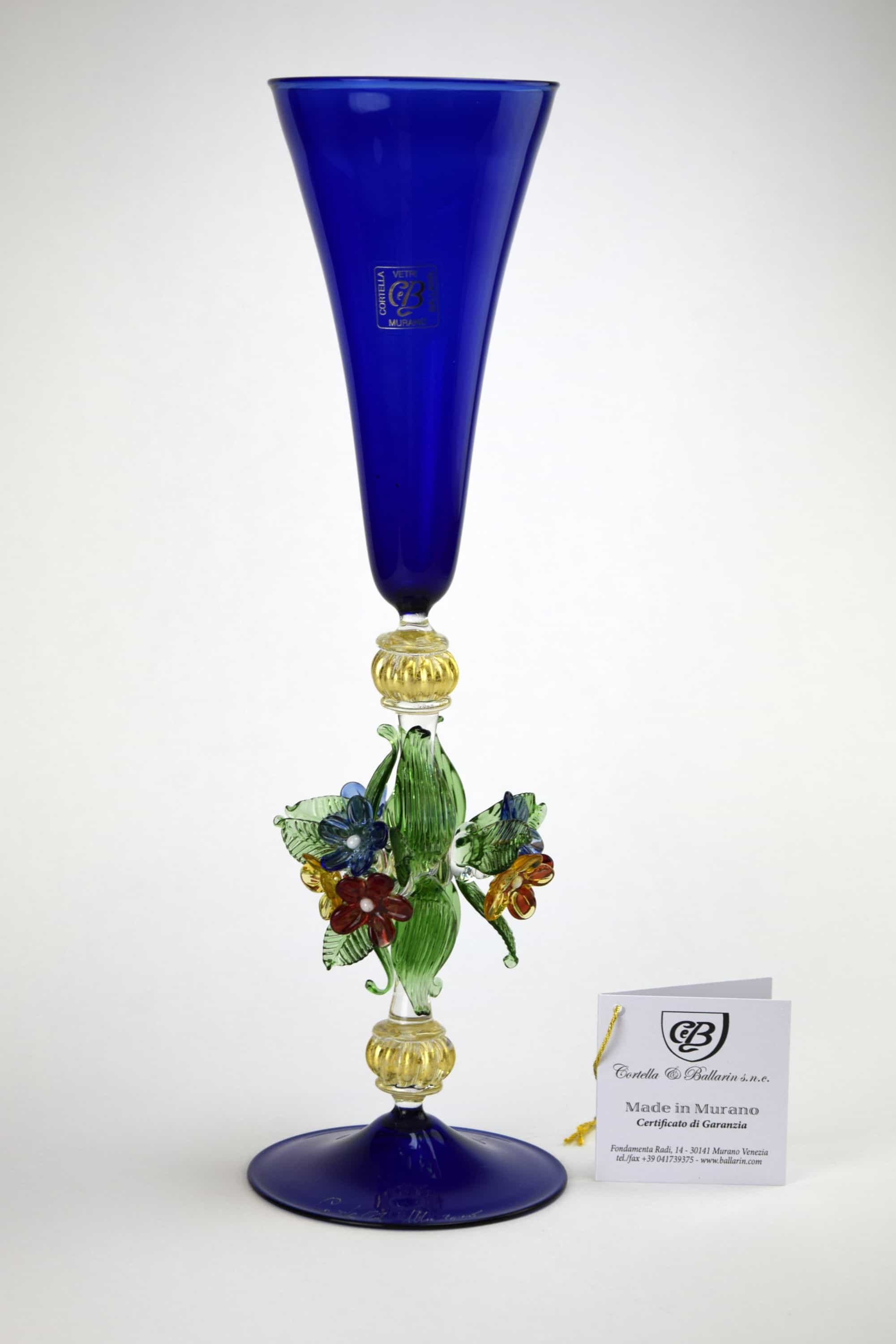 Goblet with flowers