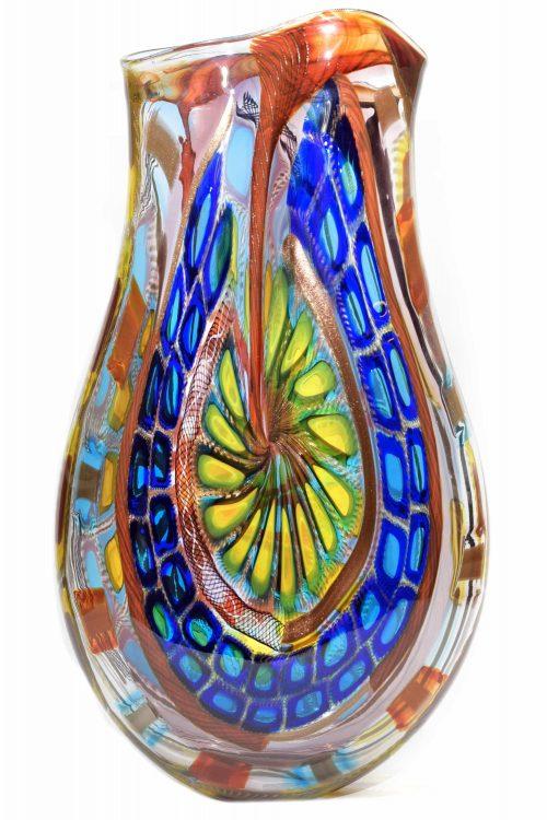 unique murano glass vase