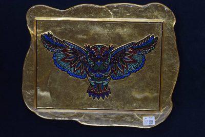 Civetta foglia oro