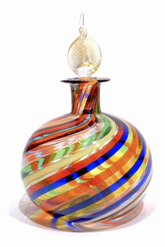 vetro di murano bottiglia