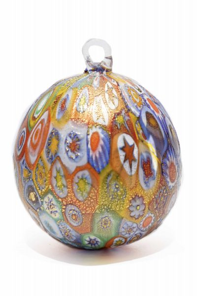 murano glass Christmas ball