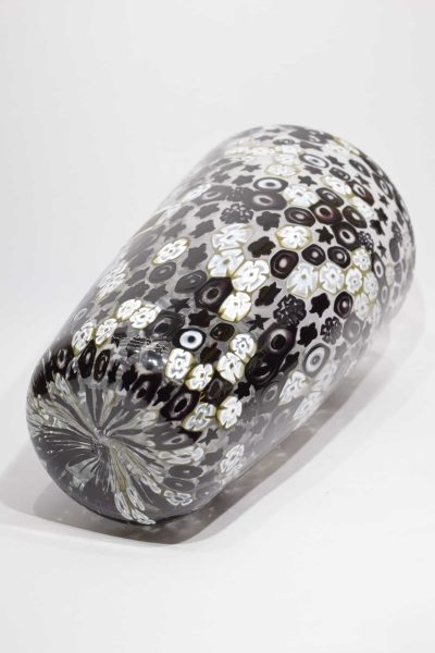 Black murrine vase