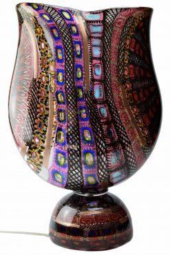 lampada mosaico in vetro di Murano