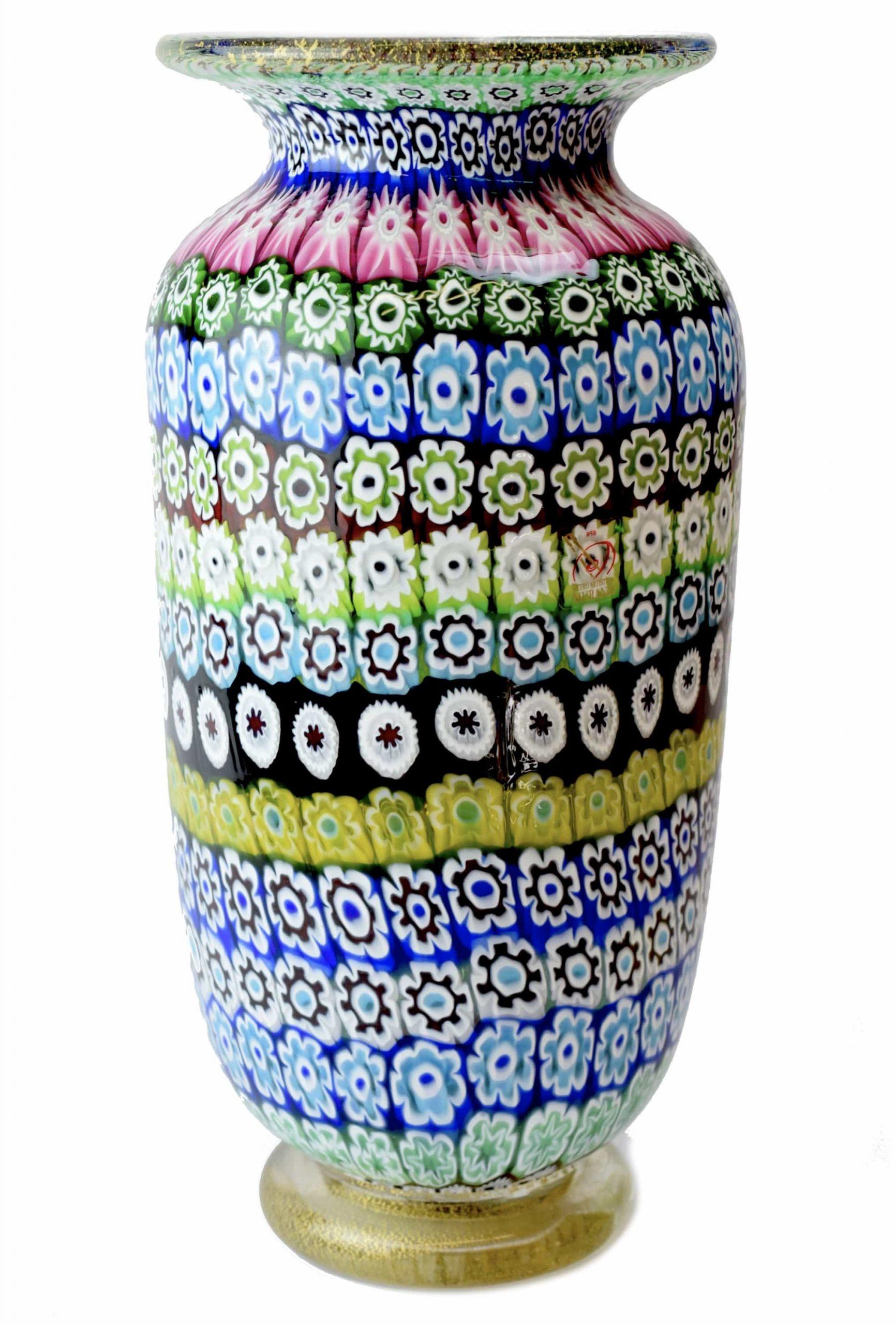 vaso millefiori