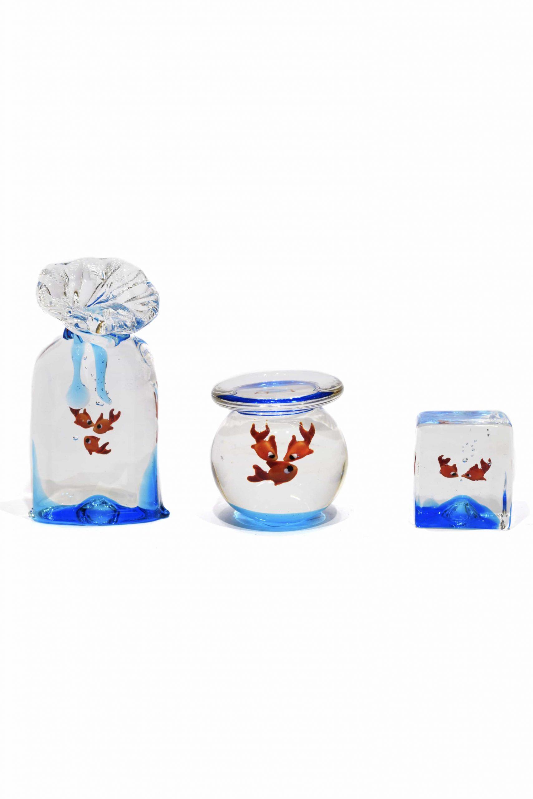 acquario in vetro realizzati a Murano