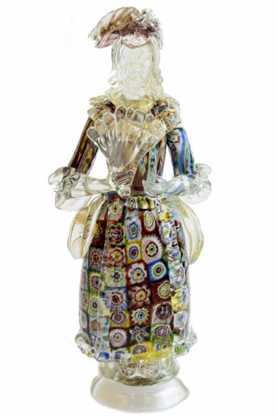 Venetian lady with murrine
