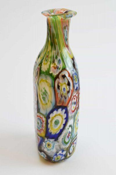 Vaso in vetro di murano con Murrine anni '30