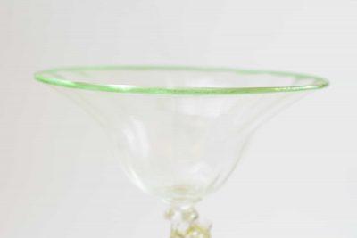 Calice in vetro di murano da collezione
