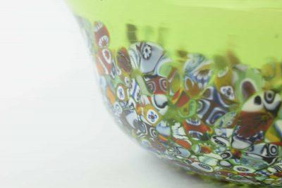 Centrotavola in vetro di murano con murrine