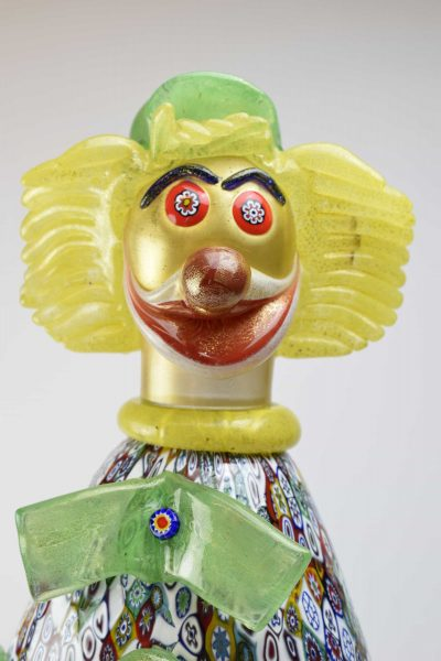 Clown with murrine