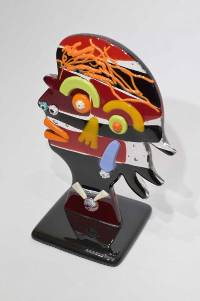 Murano glass sculpture Picasso