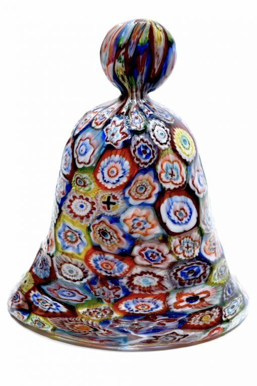 campana con murrine in vetro di murano