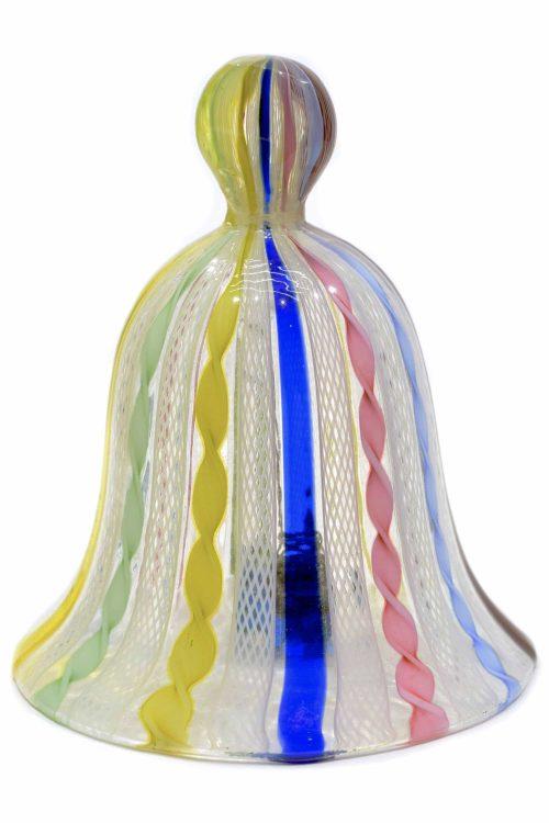 campanella in vetro di murano vintage