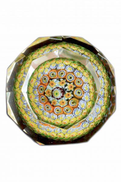 fermacarte in vetro di murano vintage