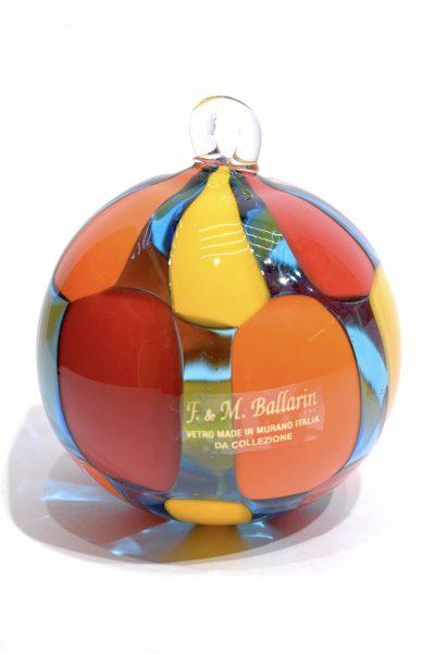 Piebald Christmas ball