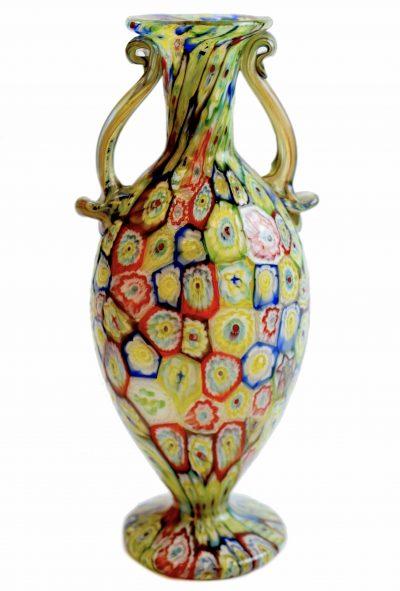 vaso in vetro di murano vintage