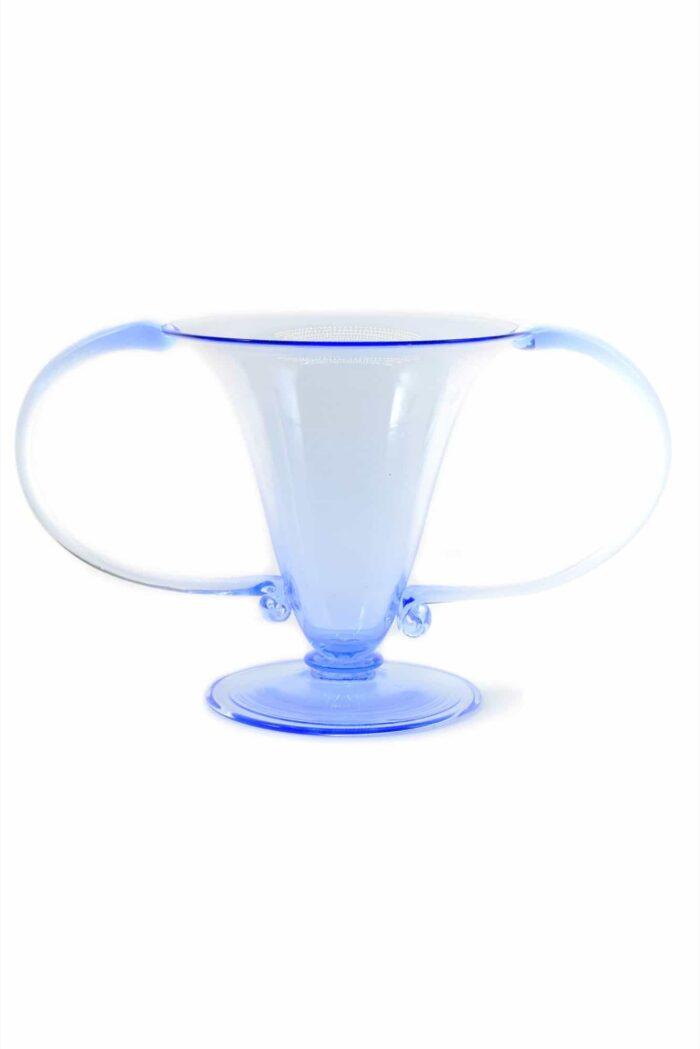 vaso Vittorio Zecchin in vetro di Murano