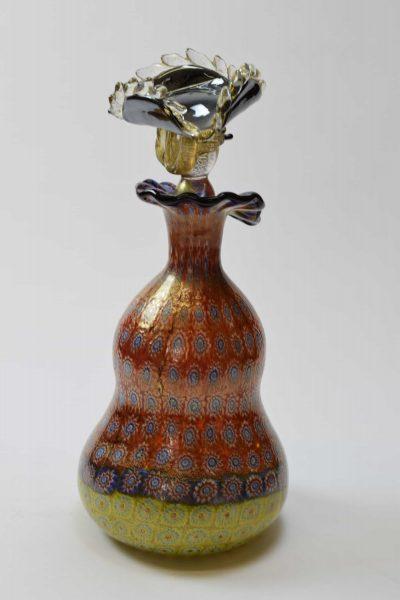 Murano glass venetian vase