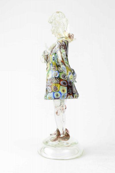 Murano glass gentleman sculpture