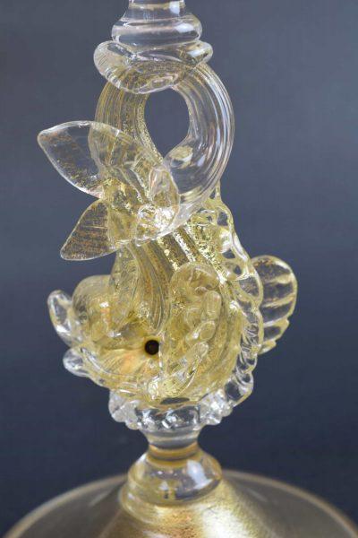 Calice Tipetto in vetro di murano