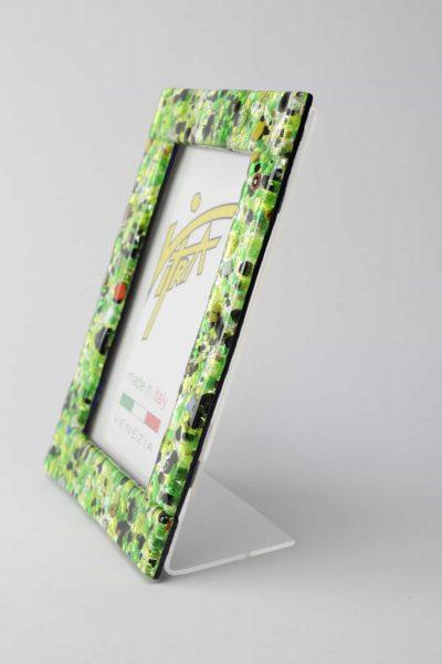 Murano glass picture frame