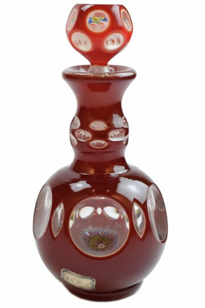 1940 Murano glass bottle