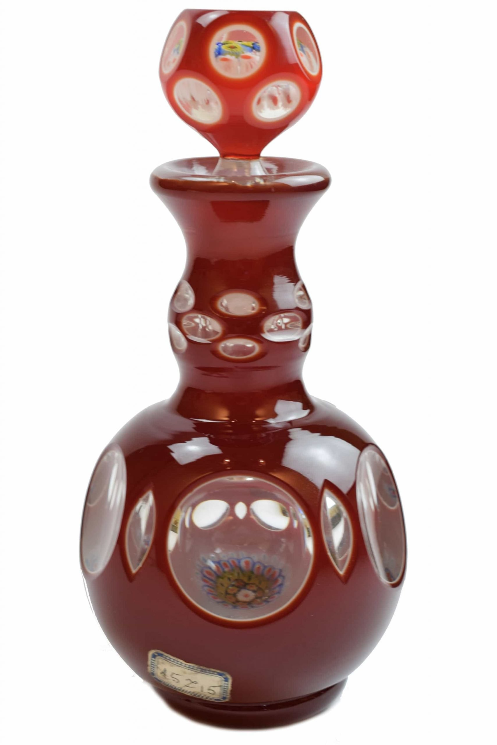 Murano glass bottle
