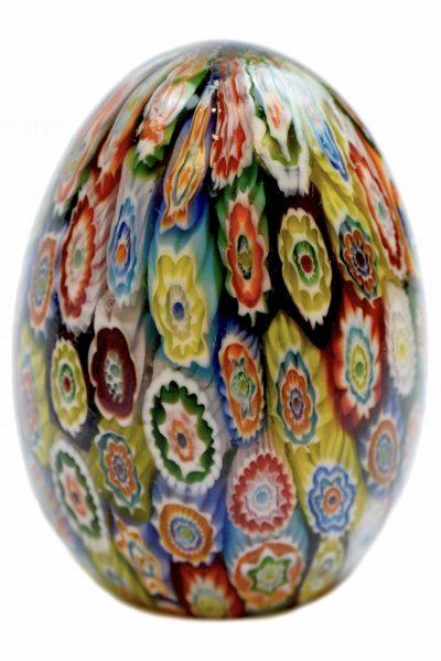 1950 Murano glass eggs paperweight