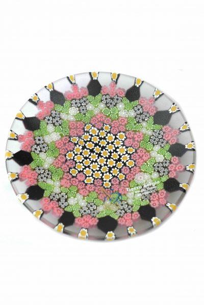Murano glass plate murrine