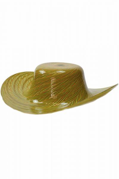 Scultura Cappello in vetro di murano