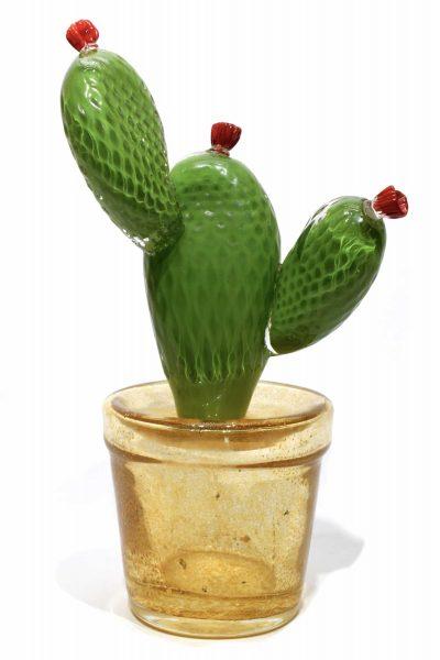 cactus vetro murano