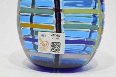 Vaso 1/1 da collezione in vetro di murano