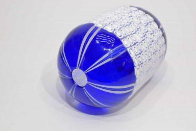 Vaso da collezione 1/1 in vetro di murano