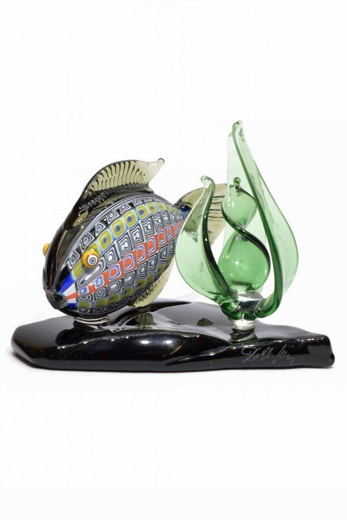 acquario di vetro di murano