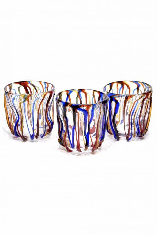 goti bicchieri in vetro di murano