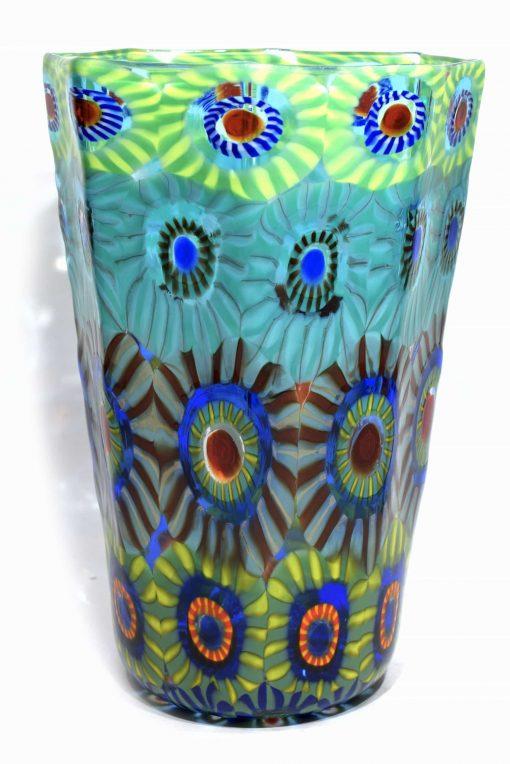 vaso in vetro di murano