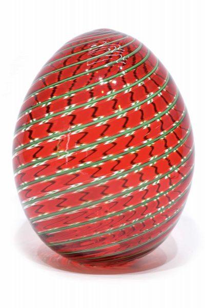 uovo in vetro di murano