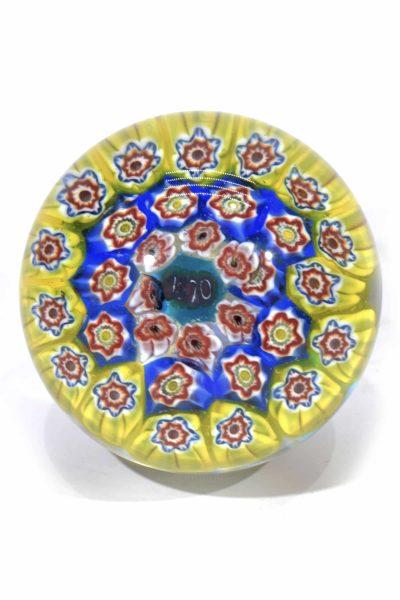 vermacarte vintage in vetro di murano