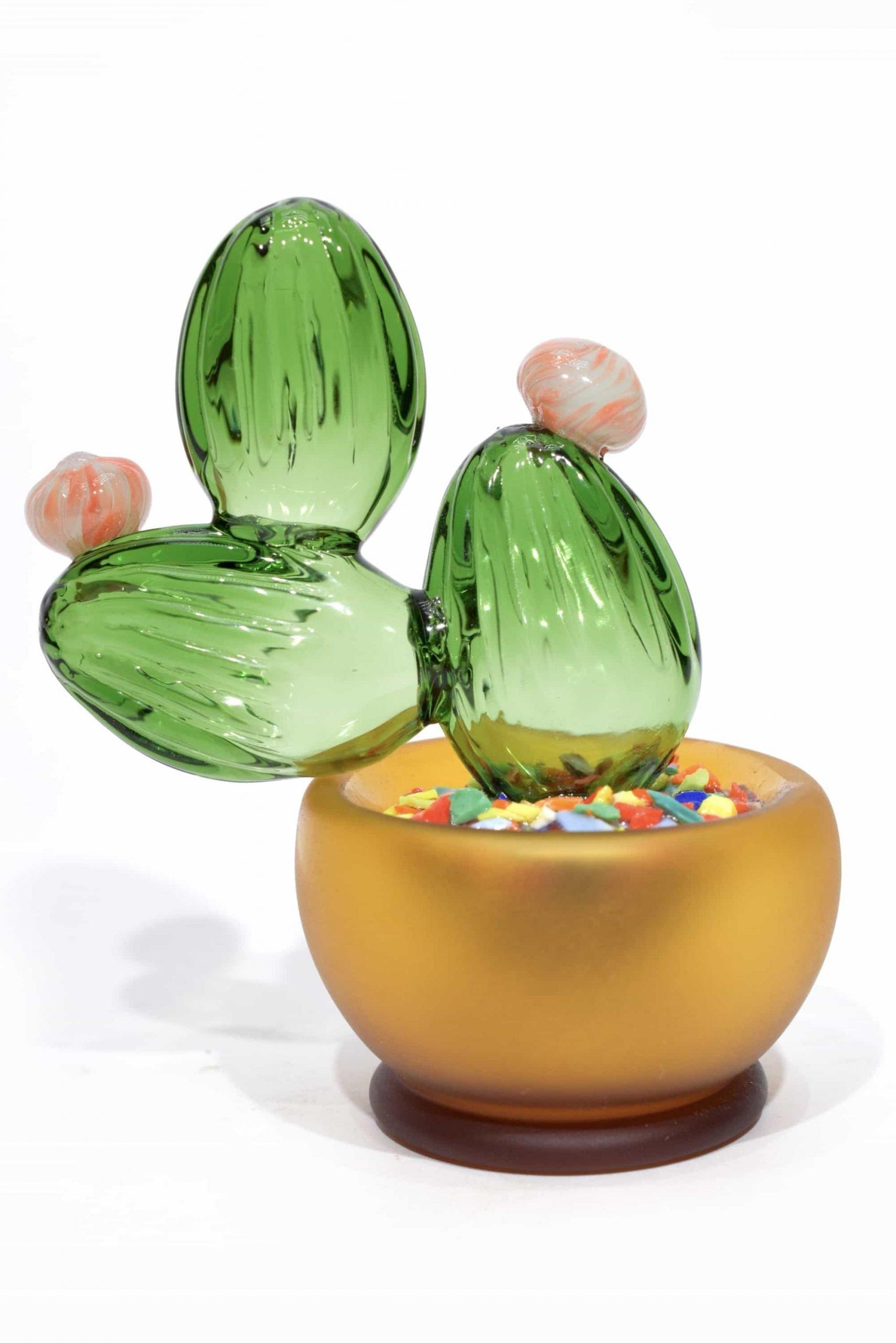 cactus in vetro di murano